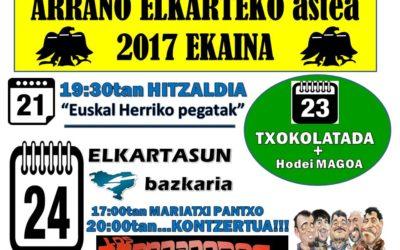 ARRANO ELKARTEKO ASTEA
